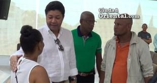 Eladio Martínez está en contacto con organizaciones comunitarias