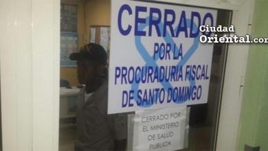 Centros médicos clausurados