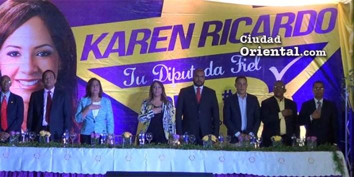 Karen Ricardo encabeza acto rendición de cuentas a su comunidad