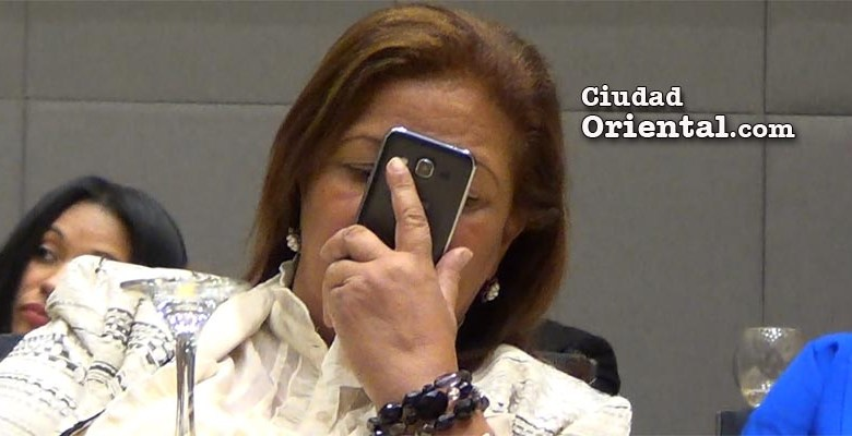 Nancy Cuevas, regidora del PLD en el ASDE