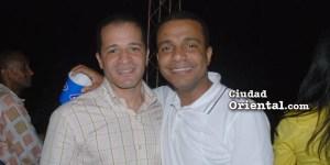 Juan de los Santos, (i) y Richard de los Santos