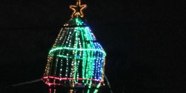 Arbol de navidad en la fundación de María Gallard