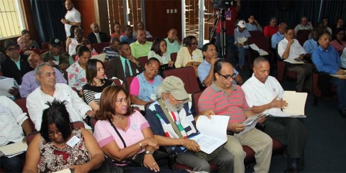 Vista parcial de los asistentes a la asamblea anual del CDP