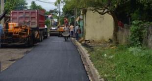 Asfaltado calles de San Luis