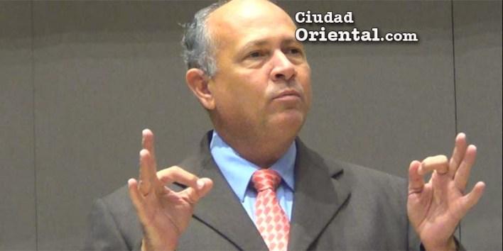 Robert Arias, regidor PRM-ASDE