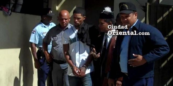 Yeuris Pérez (a) Cartier, en custodia.