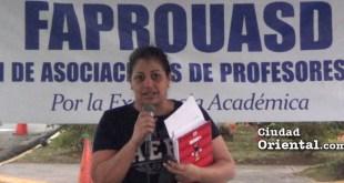 Larissa Rodríguez, estudiante de Comunicación de la UASD