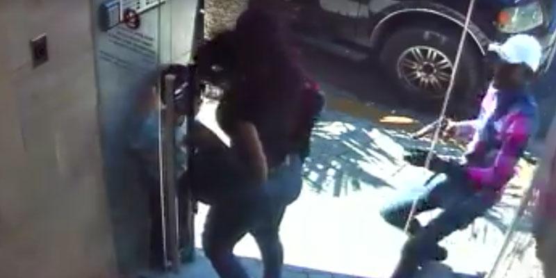 Vídeo + fotos - Un pistolero perpetra asalto en el edificio que reside la fiscal Raquel Cruz
