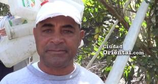 Ramón García, productor agropecuario de Valle Nuevo, Constanza