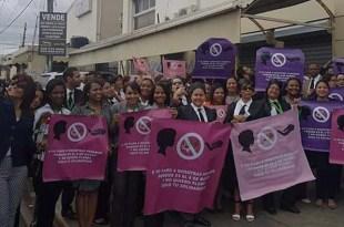 La jornada busca sensibilizar a la población sobre los derechos de las mujeres.
