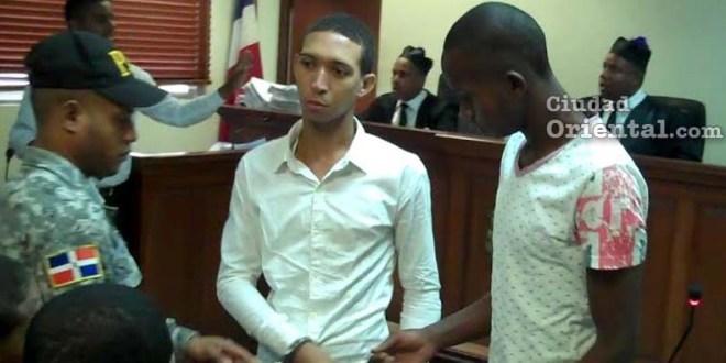 Maicol Jeffrey Martínez Aquino y Luis Fernando Abreu, favorecidos con la sentencia.