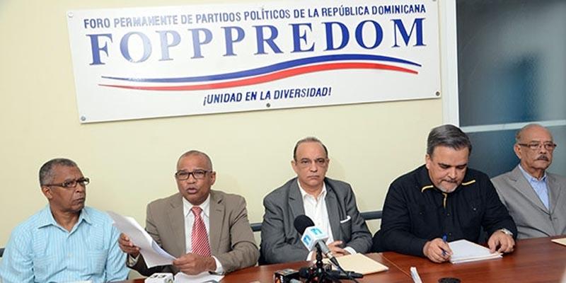 FOPPPREDOM denuncia TSE pretende anular facultades de la JCE
