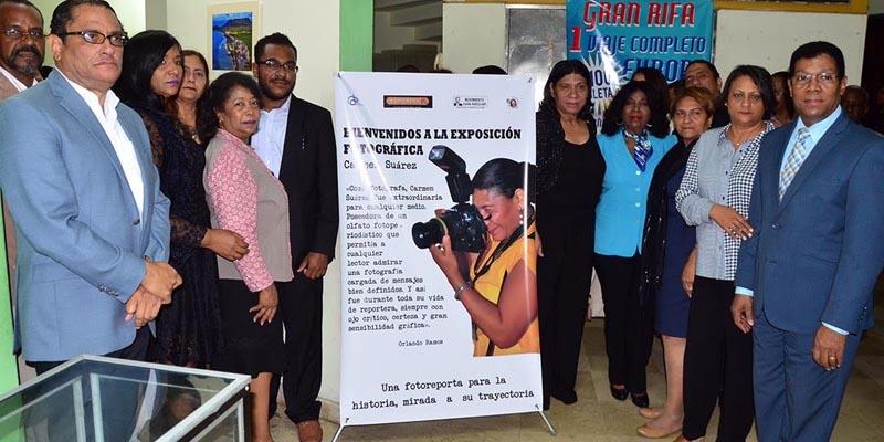 CDP, movimientos periodísticos y familiares de Carmen Suárez le hacen un homenaje
