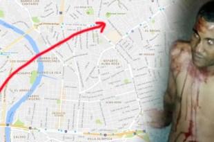 Roberto Antonio Cabrera Martínez, presunto atracador, fue de Bameso a Cancino para cometer un atraco, pero fue capturado y estuvo a punto de ser linchado.