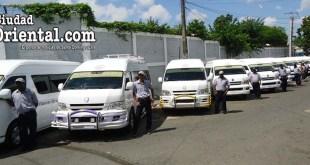 Los nuevos minibuses de la Ruta 40