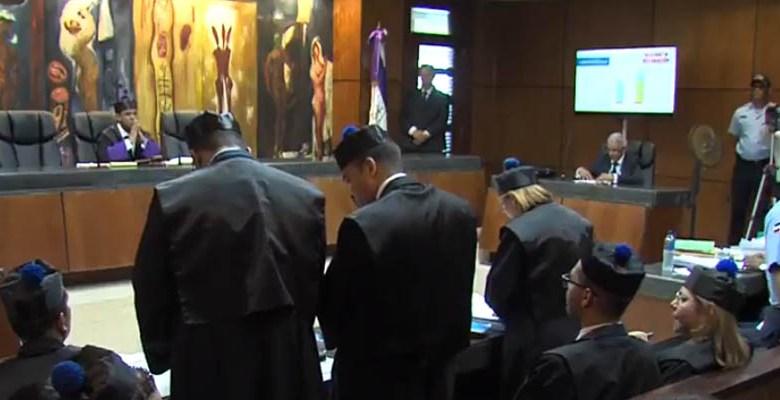 El Ministerio Público expone su pedimento ante el tribunal
