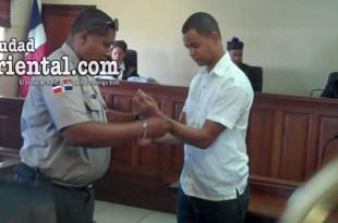 El condenado es puesto en custodia, luego de la sentencia.