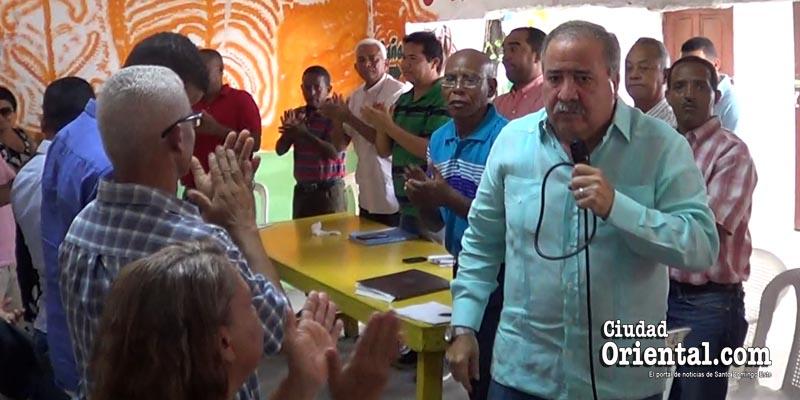Tonty Rutinel desconoce reestructuración PRD en SDE + Vídeo