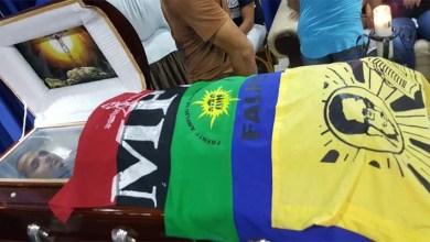 Photo of Cubren con las banderas del MPD, el Falpo y Felabel cadáver Vladimir Balderas
