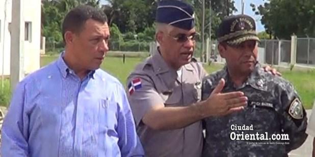 Desde la izquierda, Hector García Cuevas, Nivis Pérez Sánchez y Ciriano Núñez
