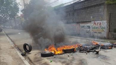 Photo of Protestan en Cancino Adentro por largos apagones