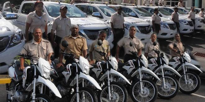 Vehículos de la Policía Ambiental del ASDE
