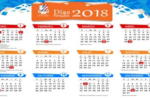 Dias Feriados en en RD durante 2018