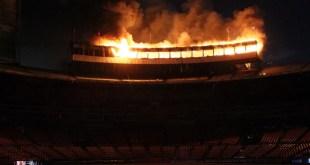 """Incendio en el """"Septimo Cielo"""""""