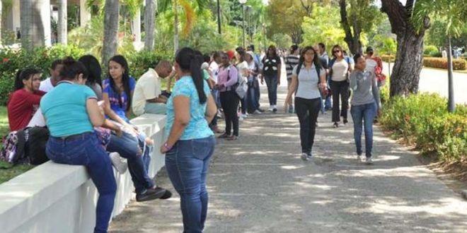 Estudiantes de la UASD/ Foto ilustrativa