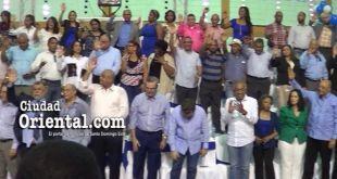 Luisistas juran defender al municipio Santo Domingo Este