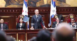 El Presidente Danilo Medina rinde cuentas ante la Asamblea Nacional, 27 de Febrero 2018