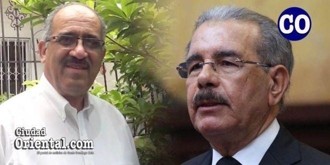 Leonardo Faña y Danilo Medina