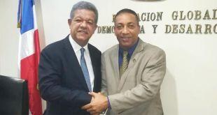 Leonel Fernández y César Fortuna