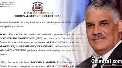 Photo of Sentencia íntegra del TSE que declara nula asamblea del PRD
