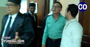 Miguel Pimentel Kareh, a la salida del tribunal