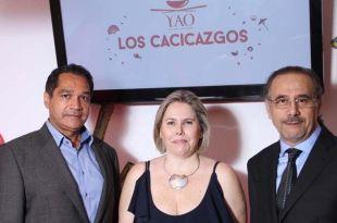 Ramón del Rosario, Joelle Fernández y Philippe Fernández