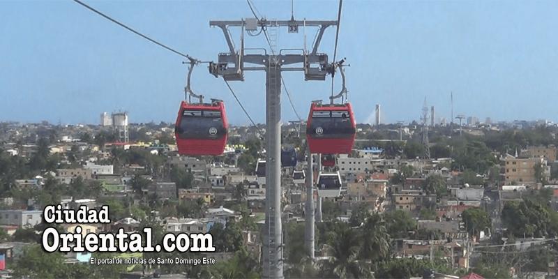 Algunos detalles del primer recorrido del teleférico de Santo Domingo + Vídeo
