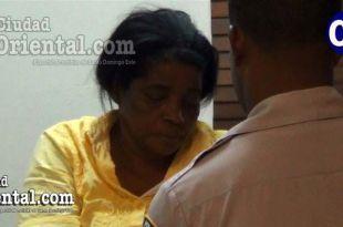 Martha de los Santos Mercedes, puesta en custodia