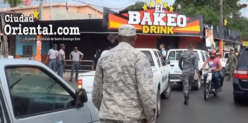 "Condenan policía mató parqueador en ""Bakeo Drink"" de Villa Liberación"