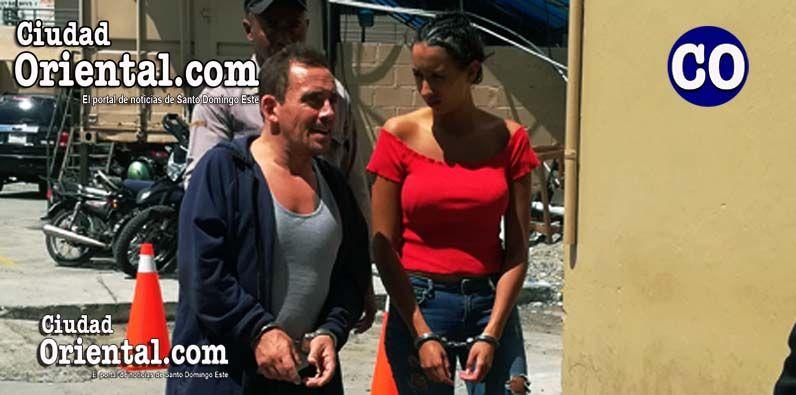 Imponen prisión pareja arrestada con 4.38 kilos de cocaína debajo de licras