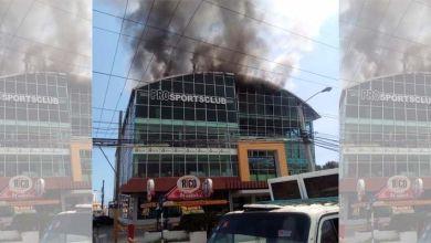 Photo of Se incendia edificio en el que está alojada la Gobernación de la provincia Santo Domingo