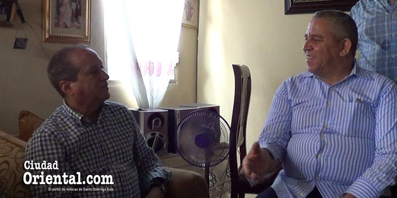 Lo que Winston Báez le dijo a Reinaldo Pared cuando este le visitó en el barrio Puerto Rico + Vídeo