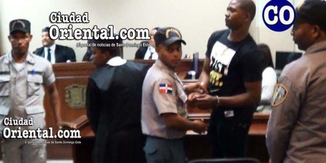 Jamel Santana Fajardo (a) Renecito y/o Canagüey, puesto en custodia.