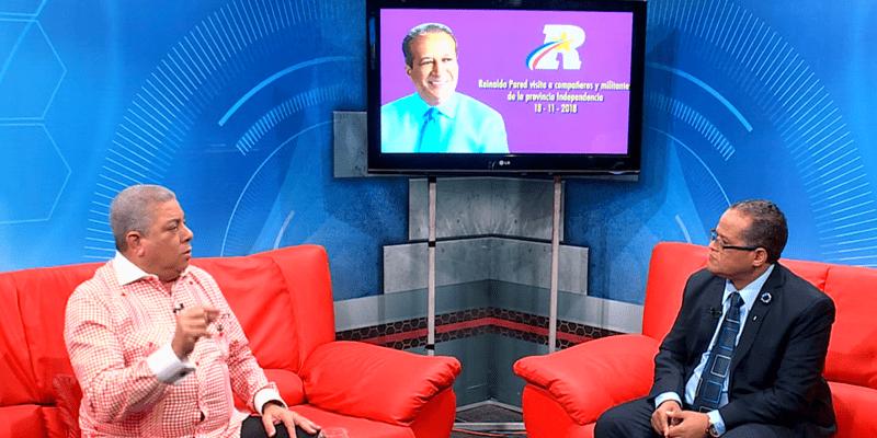 """Aristipo Vidal dice """"Reinaldo Pared es el único que garantiza el consenso y la unidad del PLD"""""""