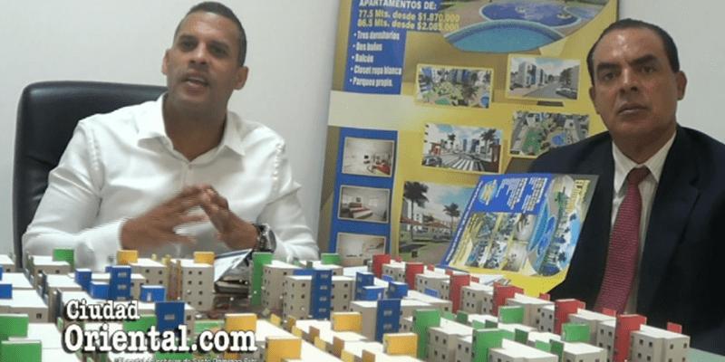 Estos inversionistas de Ciudad Juan Bosch quieren que el presidente Medina sepa lo que le hacen Ysidro Romano, Alfredo Martínez y Lena Ciccone + Vídeo