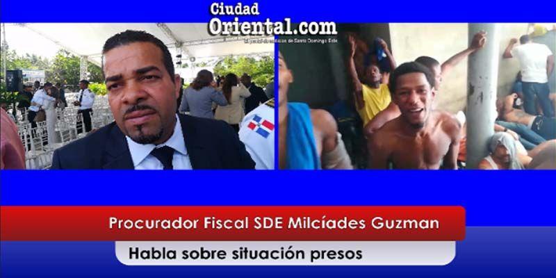 El Fiscal Milcíades Guzmán asegura que mejoran las condiciones presos de la Fiscalía SDE + Vídeo