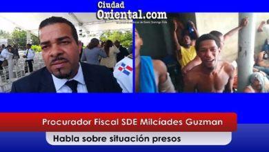 Photo of El Fiscal Milcíades Guzmán asegura que mejoran las condiciones presos de la Fiscalía SDE + Vídeo