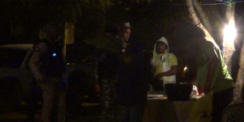 """Así fue la """"incursión"""" de madrugada de la PN al campamento de los verdes en SDE + Vídeo"""