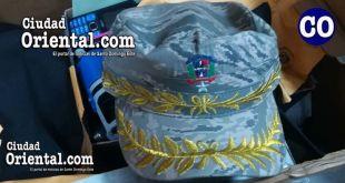Entre las pruebas, figura esta gorra de general de brigada de la FARD.