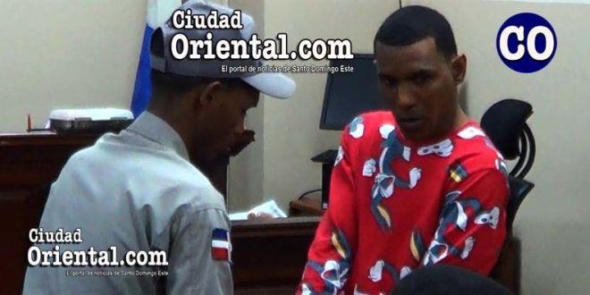 Ivan Alberto Frías Correa (a) Chico Parao, puesto en custodia.